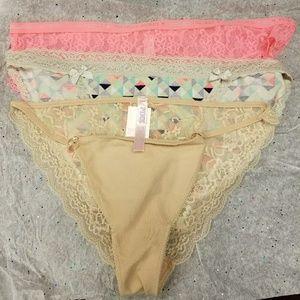 VS panties Size L